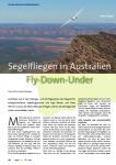 Segelfliegen in Australien