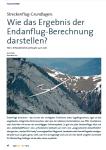 Wie das Ergebnis der Endanflug-Berechnung darstellen? Teil 1