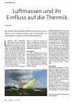 Luftmassen und ihr Einfluss auf die Thermik