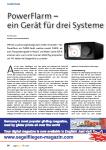Power Flarm - ein Gerät für drei Systeme