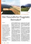 Der freundliche Flugplatz Reinsdorf