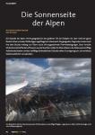 Die Sonnenseite der Alpen